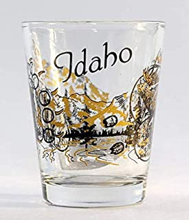 Idaho Wilderness Elk & Bear Shot Glass