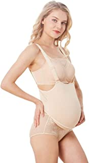 JUSTTOYOU Fake Pregnant Belly for 6 Months Fake Belly Costume with M Bodysuit, 5.5 lbs
