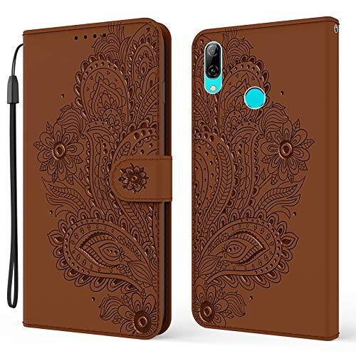 DEYX010385 - Funda para Huawei PSmart+ 2019 (función atril), color marrón