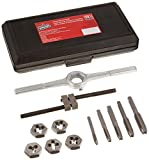 Vermont American 21722 12-Piece Starter Tap and Die Set with Plastic Case