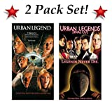 2 Pack Set! Urban Legend & Urban Legends Final Cut