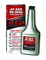 Professional strength fast acting resealer, stops leaks fast Rejuivinates all rubber seals & gaskets in engines, transmissions, power steering, differentials and hydraulic systems Compatible with conventional and synthetic oils, ATF, gear oil, power ...