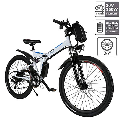 Aceshin 26'' Electric Mountain Bike best electric mountain bike under 1000
