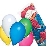 tischdeko 30. geburtstag selber machen farbig sortiert Susy Card 11442936 Luftballons, Latex, farbig sortiert, 500 Stück im Polybeutel