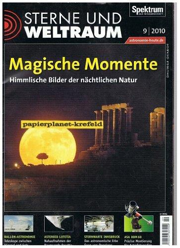 Sterne und Weltraum 2010 Heft 9 , Ballon-Astronomie , Asteroid Lutetia , Sternwarte Innsbruck