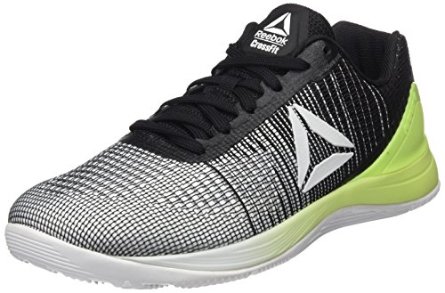 Reebok R Crossfit Nano 7.0, Zapatillas de Running Unisex, Blanco (White/Electric Flash/Black), 44.5 EU M