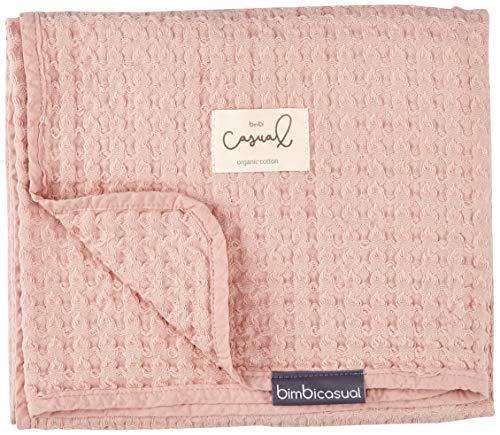 Bimbi Casual Manta Crochet 100% Alg.S.Washed 96X96 257 000 04 - Mantas, unisex