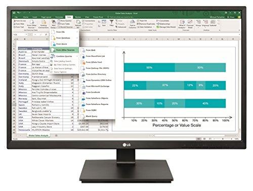 LG 27BK550Y-B 68,58 cm (27 Zoll) Business LED Monitor, schwarz