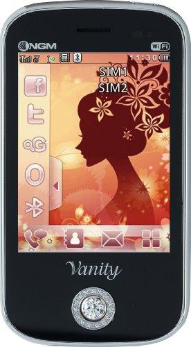 NGM Vanity Touch Smartphone, Dual SIM, Nero [Italia]