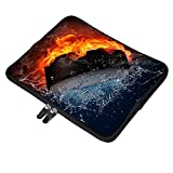 Yilooom Hockey Drama Neoprene Soft Sleeve Case for MacBook 12 Inch & MacBook Air 11.6 Inch and Laptop up to 12' Ultrabook, Chromebook Bag Cover