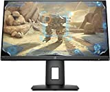 HP - Gaming 24x Monitor con Casse Audio 23.8' FHD 1920 x 1080 a 144 Hz, Borderless, Tempo risposta 1 ms, AMD FreeSync, Regolazione Inclinazione e Altezza, Comandi su schermo, DisplayPort, HDMI, Nero