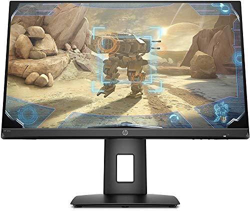 """HP - Gaming 24x Monitor con Casse Audio 23.8"""" FHD 1920 x 1080 a 144 Hz, Borderless, Tempo risposta 1 ms, AMD FreeSync, Regolazione Inclinazione e Altezza, Comandi su schermo, DisplayPort, HDMI, Nero"""