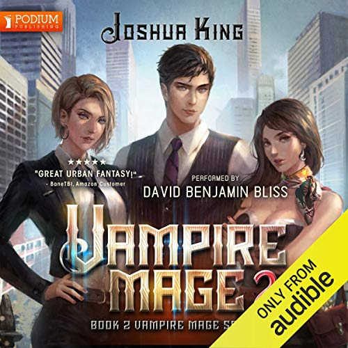 Vampire Mage, Book 2 cover art
