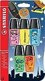 Limited Edition STABILO BOSS MINI Heroes Textmarker Pen, 5Stück