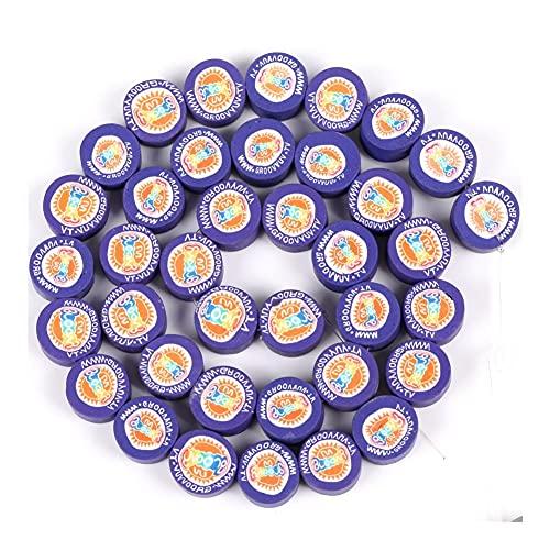 JINGGEGE Lote de 38 cuentas de arcilla polimérica con forma de girasol para hacer joyas, accesorios hechos a mano (color: sol, diámetro del artículo: 38 piezas)
