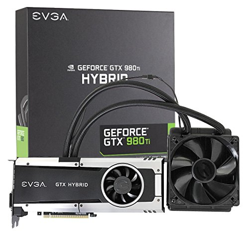 EVGA GeForce GTX 980 Ti 6GB HYBRID GAMING, 'All in One' No Hassle...