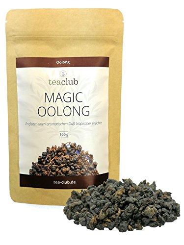 Oolong Tee Schwarz Taiwan 100g, Oolongtee Formosa, Magic Oolong aromatisch-fruchtig, Halbfermentierter SchwarzerTee - TeaClub Black Tea