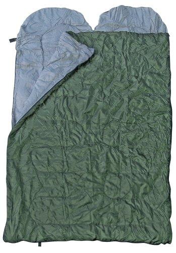 Spacieux Sac de couchage double, sac de couchage pour deux Personnes, différentes couleurs - Olive