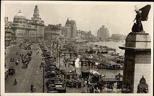 The Bund Shanghai supreme China Original Popular products Postcard Vintage