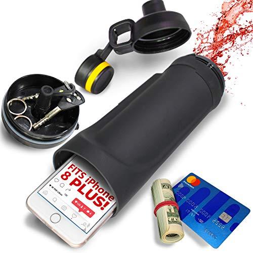 Botella de agua de desvío - El compartimento oculto de la billetera es mejor para las cajas fuertes de viaje o caja fuerte oculta - Botella de agua secreta por Shape Savages