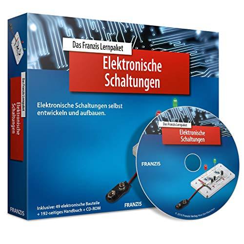 FRANZIS Lernpaket Elektronische Schaltungen: Elektronische Schaltungen selbst entwickeln und aufbauen. Inklusive 49 elektronische Bauteile + 192-seitiges Handbuch