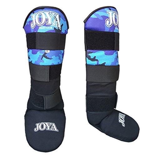 JOYA da Uomo 082100A- Velcro Parastinchi, Colore: Blu Mimetico, S/M/L