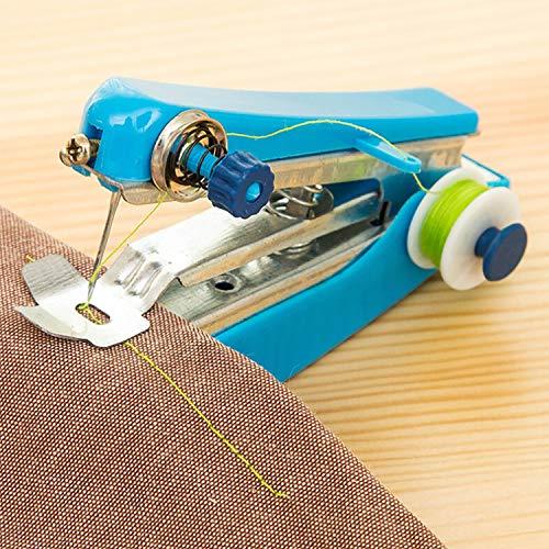 Lowest Price! Electric Sewing Machine Mini Portable Handheld Sewing Machines Stitch Sew Needlework C...