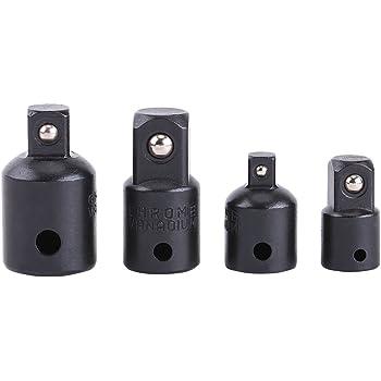 """2Pcs 1//2-3//8/"""" Drive Douille Réducteur Air Impact Wrench Adaptateur Outils à main"""