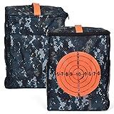 QoFina Borsa Tattica per Bombe morbide Borsa per tiro a Bersaglio Borsa per pallottole Kit di proiettili Morbidi per Fucile Nerf Freccette Selezione sciopero