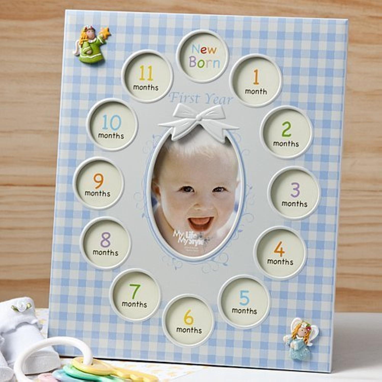 venta caliente Our Baby Boy First Year collage frame displays 13 photos photos photos - by Fashioncraft-Excello  Web oficial