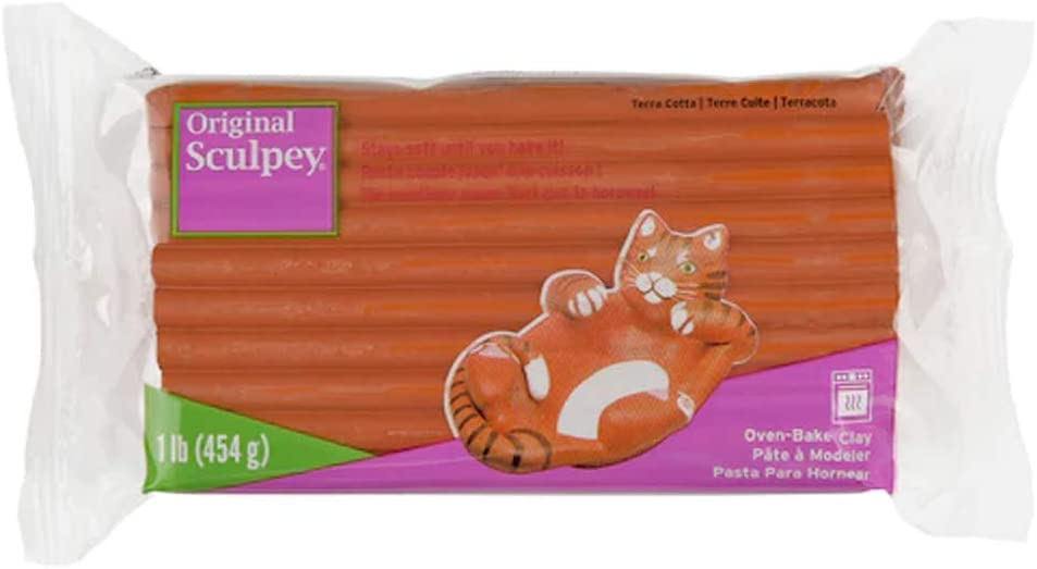1lb. Original Sculpey New product!! Oven At the price of surprise Clay Terra Bake Cotta