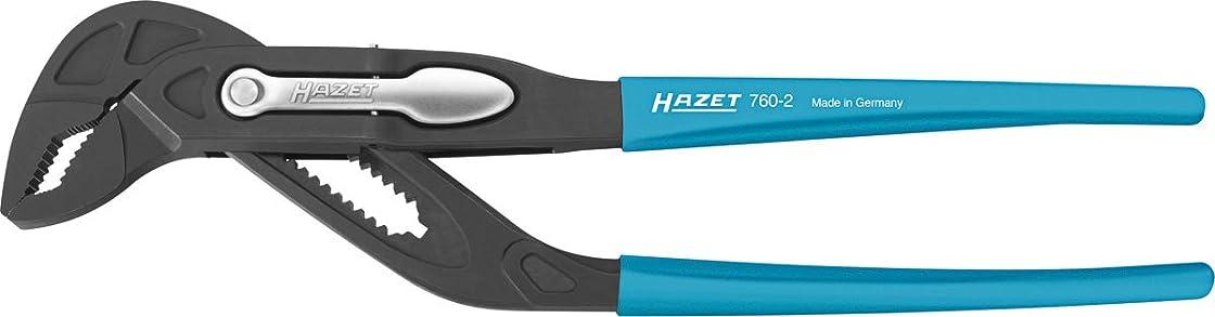 グリース精査する統治可能HAZET クイックアジャストウォータポンププライヤー 760-2