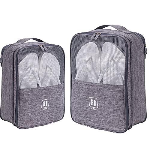 SSXX Schuhtasche Reise 3 Stück, Wasserdichter Staubabweisende Schuhe Beutel Organisator Portable Travel Shoe Bags Organizer den täglichen Gebrauch(2 Stück, 2 Größen)
