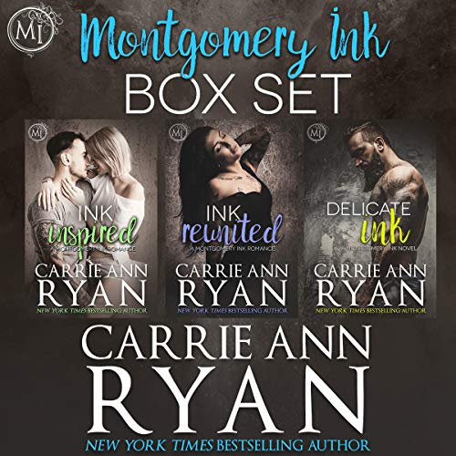 Montgomery Ink Box Set 1 Audiobook By Carrie Ann Ryan cover art