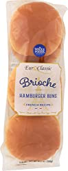 Whole Foods Market Brioche Hamburger Buns, 6 Ct