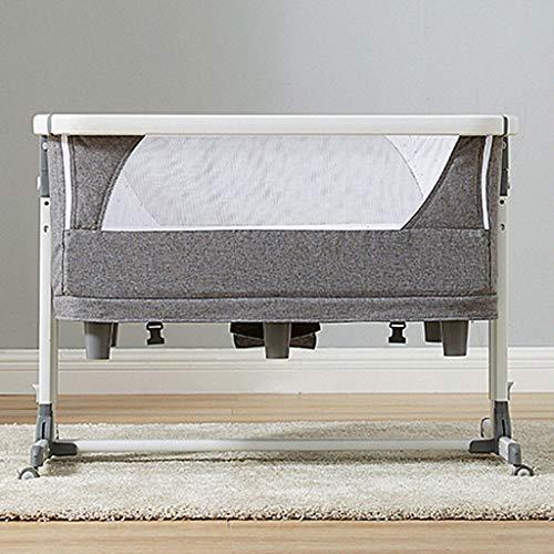 Fantastic Deal! Balance Bouncer Cradle Cot Bed Duvet Travel Cot Bedside Crib Newborns Sway Baby Swin...