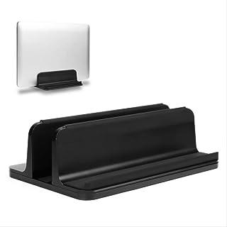 Laptop stand Laptop Stand Vertical Laptop Stand for Macbook Air Pro 13 15 Desktop Aluminum Stand with Adjustable Dock Size...