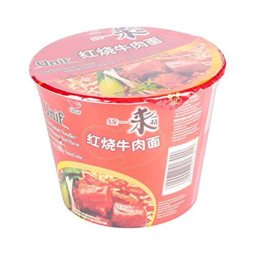 Tongyi Noodles Instantáneo de Rosbif 12 x 110 gr 0.11 ml - Pack de 12