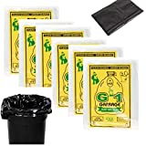 G1 Garbage Bags And Covers Large Size Black Color 25 X 30 Inch