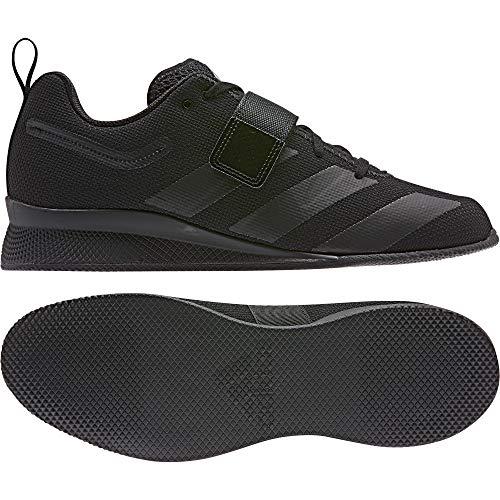 adidas Adipower Weightlifting II, Zapatillas de Deporte para Hombre, Negro (Negbás/Negbás/Negbás 000), 48 EU