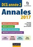 DCG Année 2 - DCG 2 - DCG 4 - DCG 6 - DCG 10 (2017)