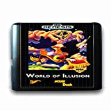 Jhana World Of Illusion Starring Mouse & Duck para tarjeta de juego Sega MD de 16 bits para Mega Drive para consola de videojuegos Genesis (JAP Shell)
