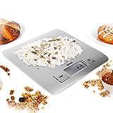 Duronic KS1009 Báscula Digital para Cocina de Acero inoxidable - Balanza de...