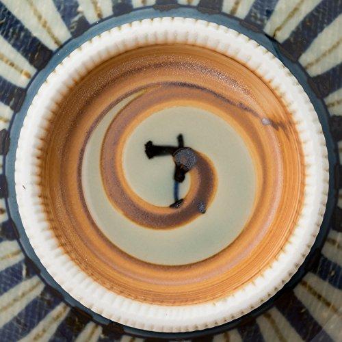 有田焼古染十草四・五茶碗
