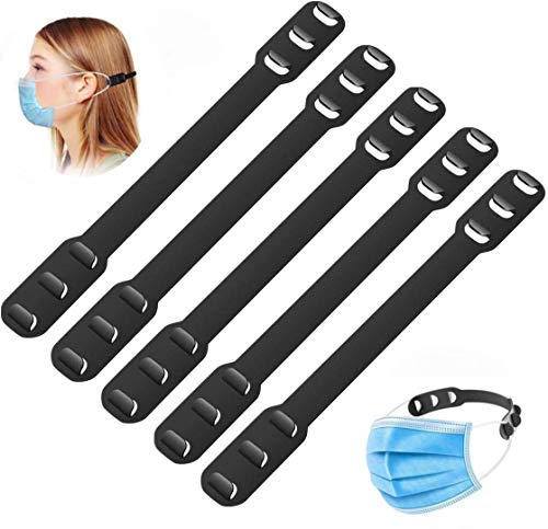 Mask Extender Ear Protector 3-Step Adjustable Ear Hook mask Hook can Reduce Ear Pressure and Pain