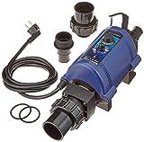 Elecro Aquatic - Calefactor (2 kW, Acero Inoxidable), Color Negro