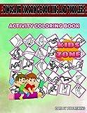 Dinosaur Coloring Book Kids And Toddlers: 40 Coloring Saltasaurus, Parasaurolophus, Stegosaurus, Stegosaurus, Dilophosaurus, Liopleurodon, Plesiosaur, ... Image Quiz Words Activity And Coloring Books