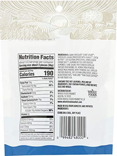 another image of Whole Foods 365 Market Mini Dark Chocolate Almond Butter Cups
