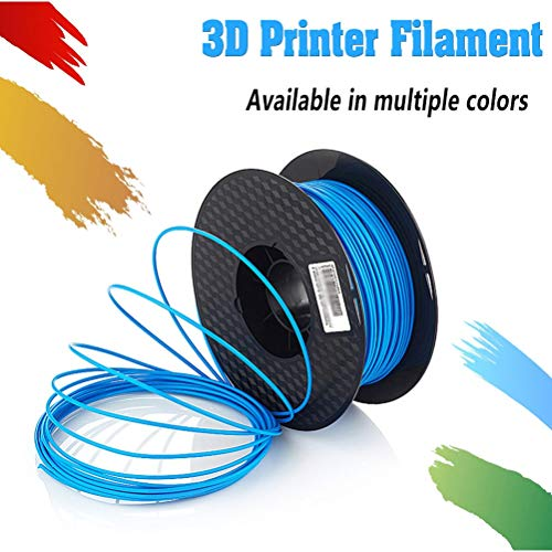 Logo 1.75mm ABS 3D Printer Filament - 1kg Spool - Dimensional Accuracy +/- 0.05mm - Professional Grade 3D Printing Filament (Color : Sky Blue)