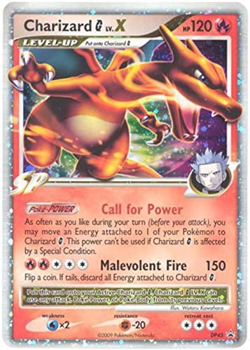 Pokemon Platinum Charizard G Lv. X DP45 Promo Card [Toy]